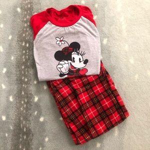 Disney Women's Small Minnie Pajamas